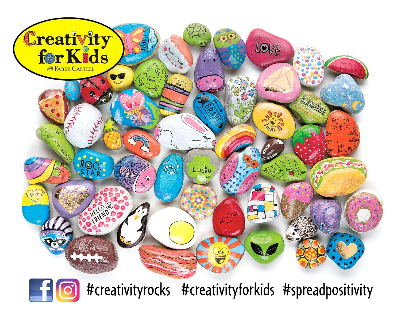 Creativity for Kids - 6161020 - Hide and Seek Rock Painting Kit