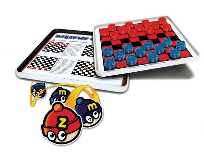 Daron - MZ660023 -Checkers Magnetic Travel Game