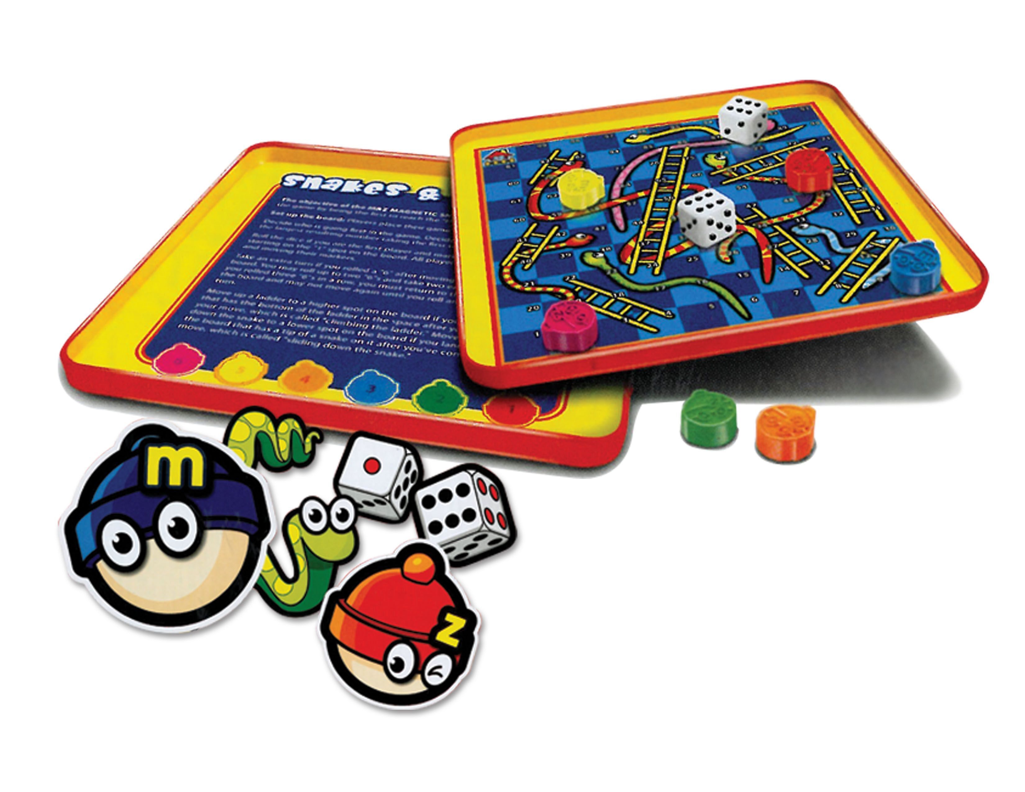 Daron - MZ660054A933 -Snakes and Ladders Magnetic Travel Game