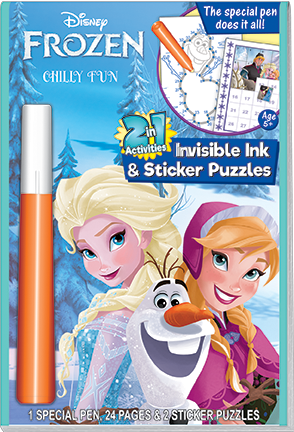 Lee Publications - FZ-535 - Frozen 2-in-1 Activity Book