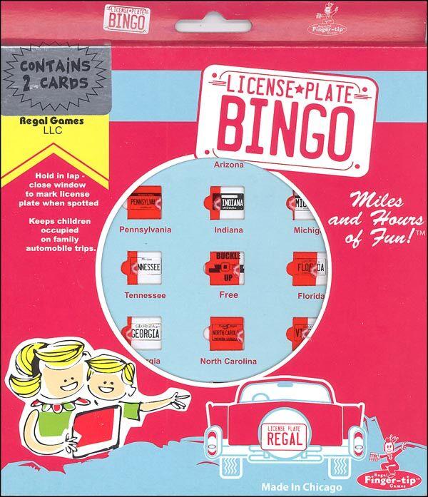 Channel Craft - RFLB - Auto Bingo - License Plate Bingo