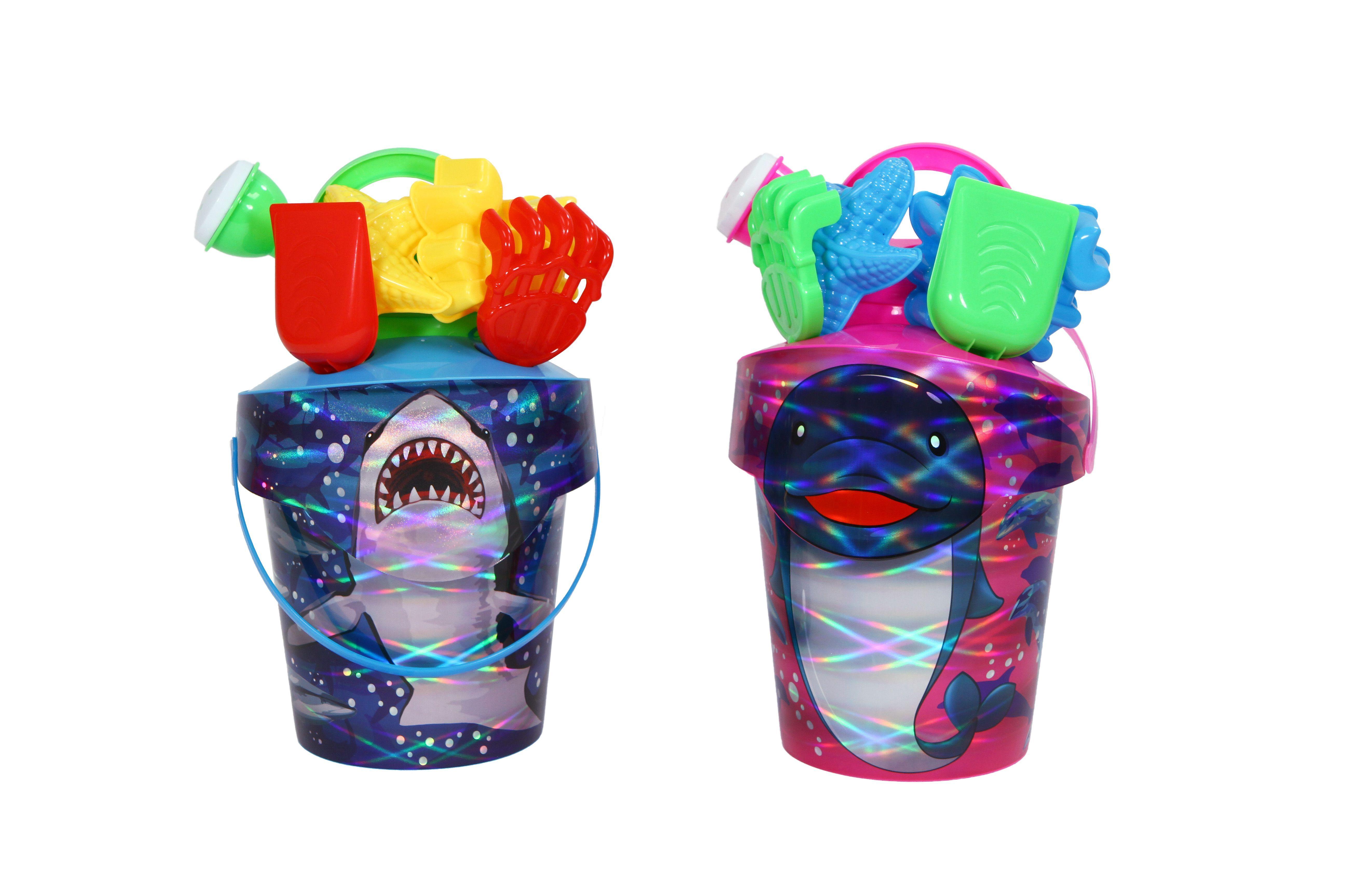 Water Sports - 81063-2 - Shark/Dolphin Bucket Set