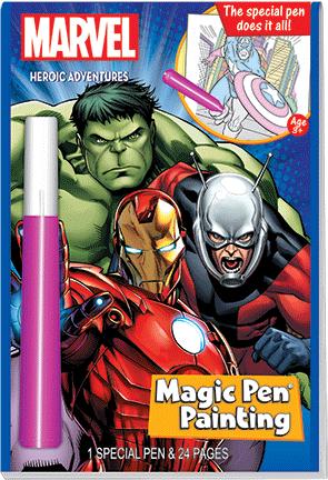 Lee Publications - MV455-1 - Marvel Magic Pen Painting