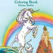 Dover - 9780486413198 - Unicorns Coloring Book