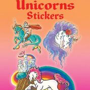 Dover - 9780486435381 - Glitter Unicorns Stickers