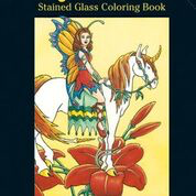 Dover - 9780486437057 - Magical Unicorns Stained Glass Coloring Book