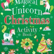 Dover- 9780486832265 - Magical Unicorn Christmas Activity Book