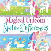 Dover - 9780486832296 - Magical Unicorn Spot the Differences