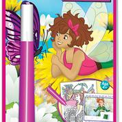 Lee Publications - FA132 - Fairies Magic Pen Painting & Sticker Puzzles