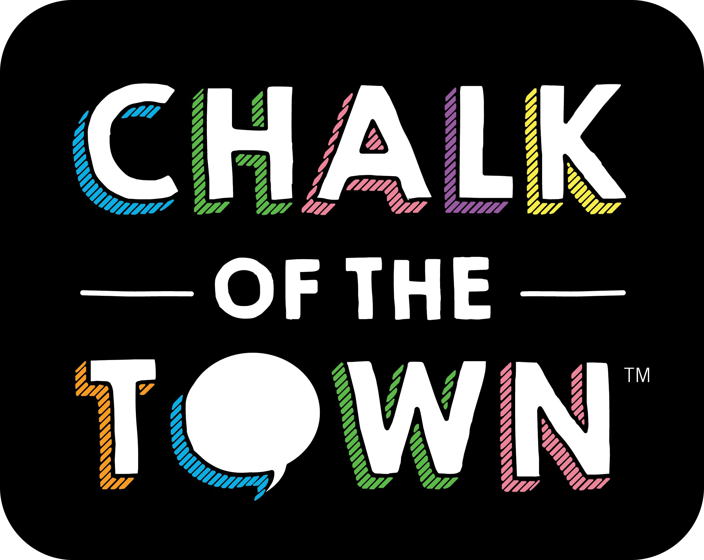Chalk of the Town Logo Stacked