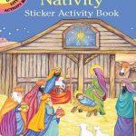 Dover - 417455 - Nativity Sticker Activity Book