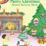 Dover - 409863 - Merry Christmas Sticker Activity Book