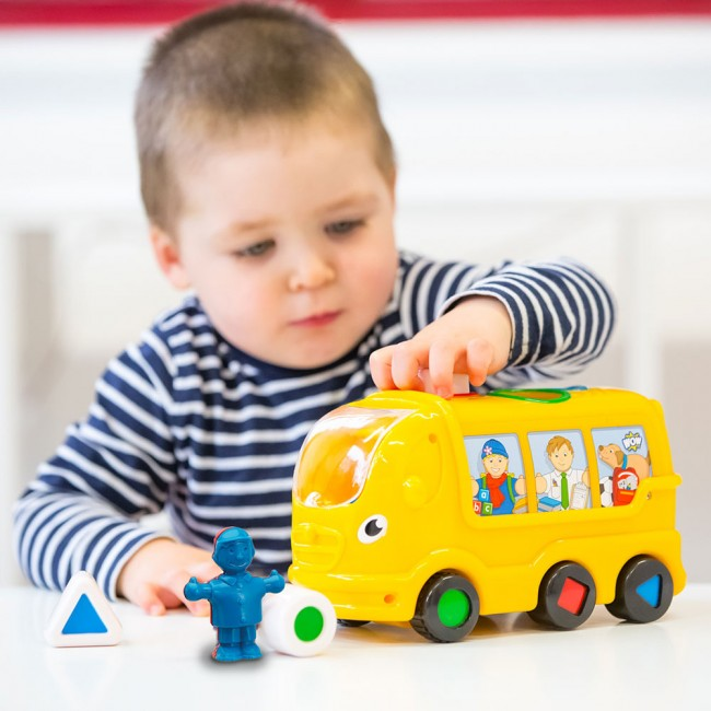 WOW Toys - 10417 - My First School Bus Ben