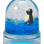 Warm Fuzzy Toys - S-53PB - Polar Bear - Snow Dome