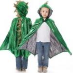 Little Adventures - 24031 - Dragon Cloak - Green/Gold