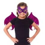 Little Adventures - 62974 - Dragon Wings & Mask Set - Pink/Purple