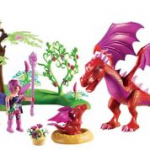 Playmobil - 9134 - Friendly Dragon with Baby