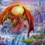 Ravensburger - 15269 - Dragon Kingdom - 1000 Pc Puzzle