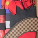 Two Bros Bows - 005-DLX-DRA - Dragon Bow - Deluxe Set - Dragon Bow, 2 Red & Black Arrows, Red Quiver Bag & Trifold Target