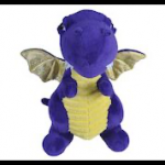"Wild Republic - 21976 - Dragon - Purple - 10"" Plush"