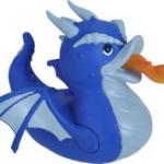 Wild Republic - 22845 - Blue Dragon - Rubber Duck