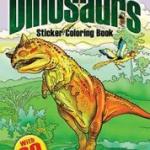Dover Publications - Dinosaurs Sticker Book