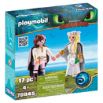 Playmobil - PM 70045 - Astrid and Hiccup