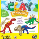 Creativity for Kids - 6174000 - Paint with Clay Dinosaurs