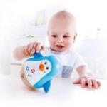Hape -E0331 - Penguin Musical Wobbler Infant Music Best Seller