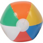 US Toy - IN168 - Beachball Inflate 12 in, 8 in diam