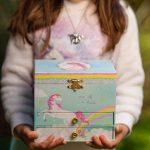 JewelKeeper - A1711 - Party Unicorn Musical Jewelry Box