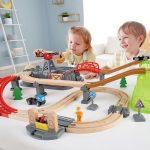 Hape - E3764 - Railway Bucket Builder Set