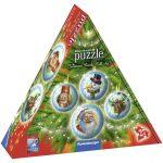 Ravensburger - 11678 - Christmas Puzzle-Ball-Set 3D Puzzle