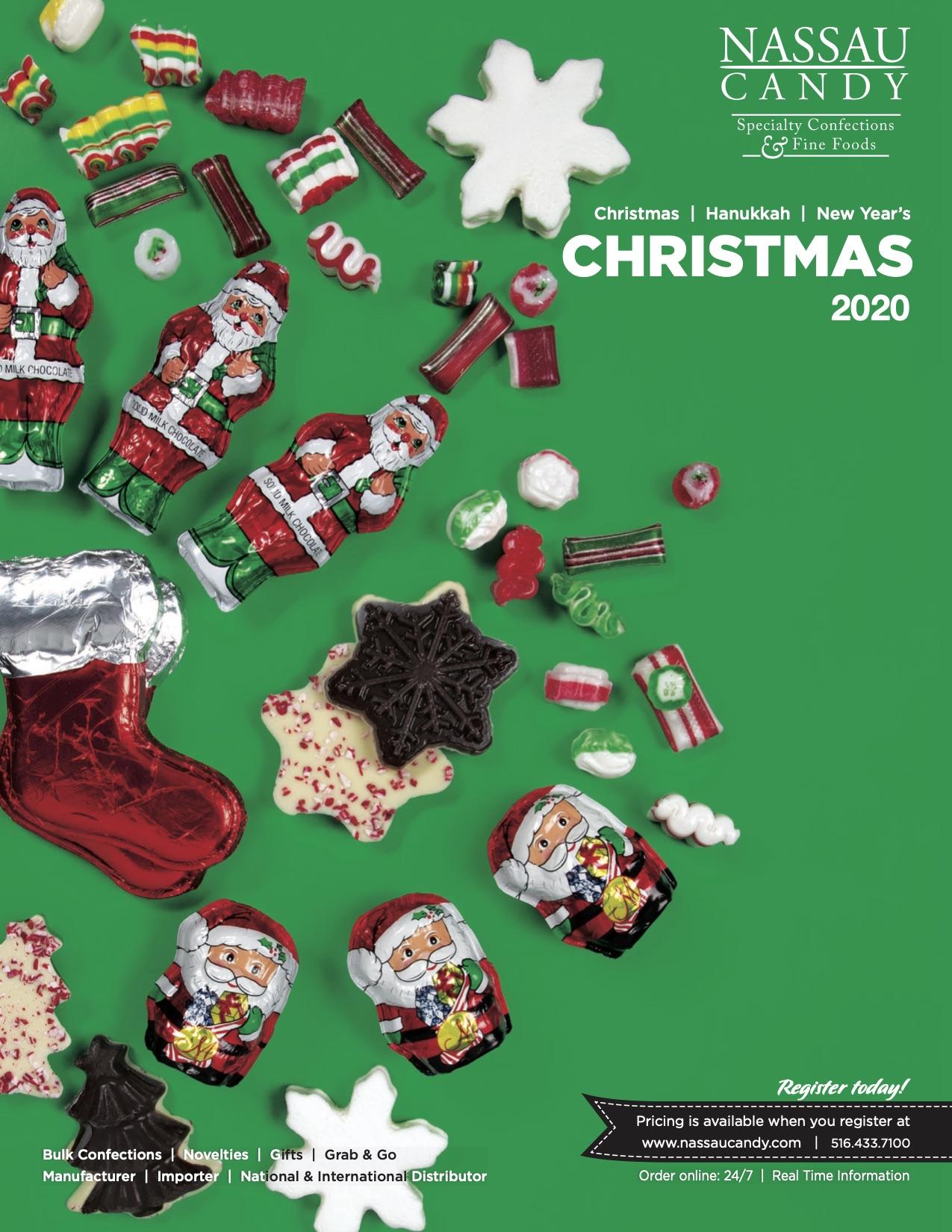 Nassau Candy Holiday Catalog