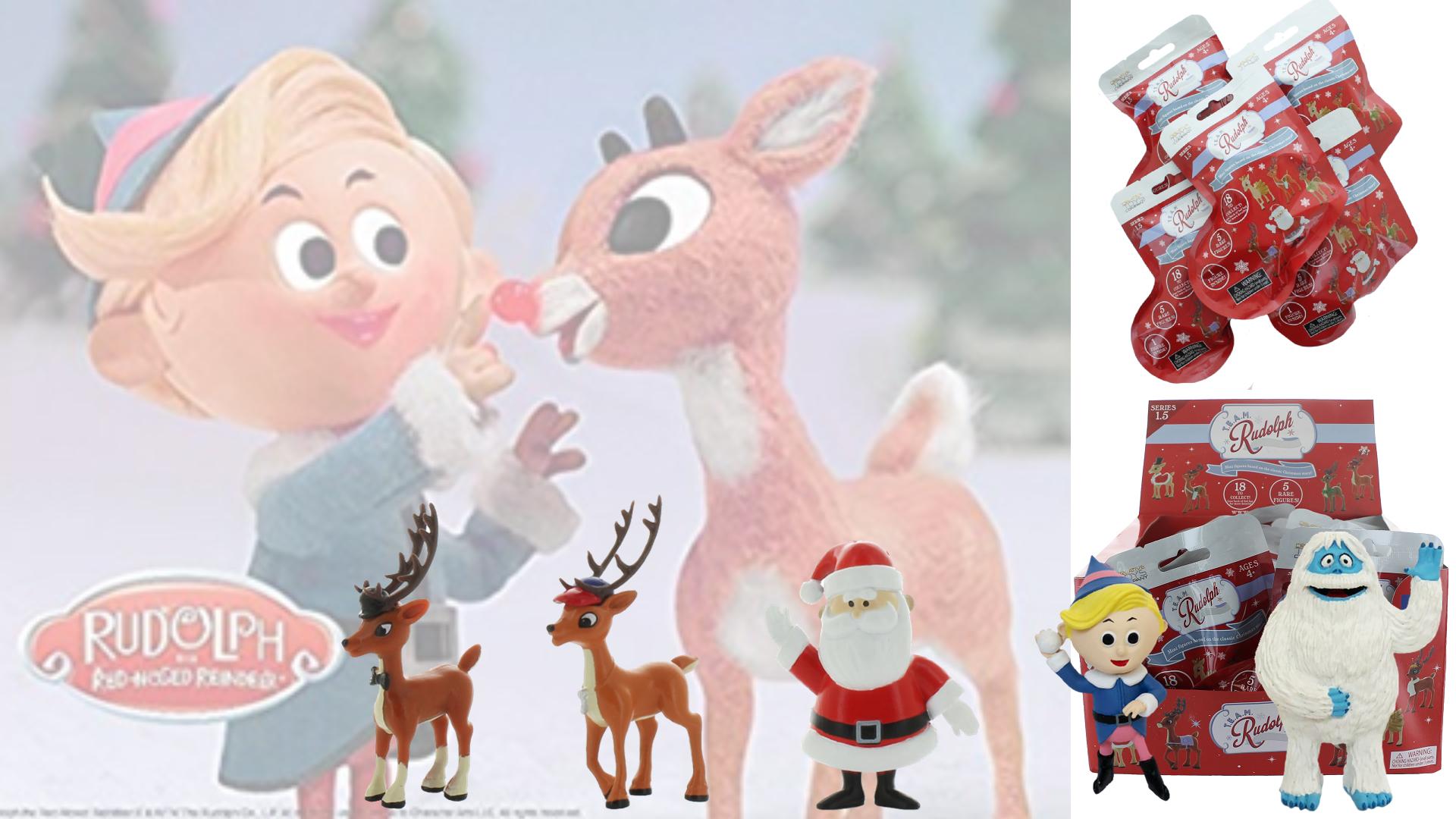 Continuum Games - CTC234708 - TEAM Rudolph Mini Figures