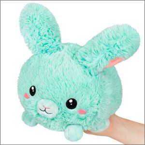 """Squishable - 106909 - 7"""" Mint Fluffy Bunny"""