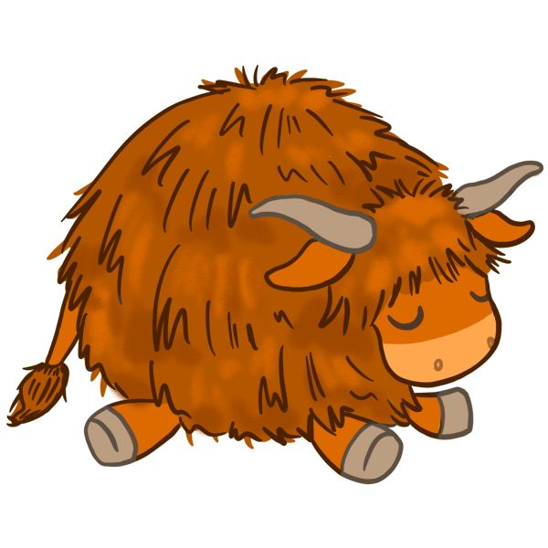 Squishable - 114270 - Highland Cow