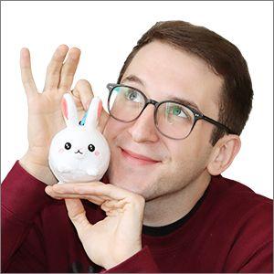"Squishable - 104684 - 3"" Fluffy Bunny"