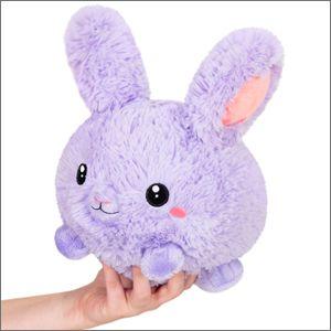 "Squishable - 106916 - 7"" Purple Fluffy Bunny"
