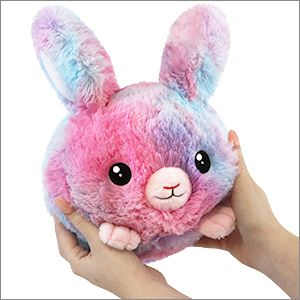 """Squishable - 105360 - 7"""" Cotton Candy Bunny"""