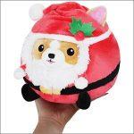 """Squishable - 106718 - Undercover Corgi in Santa (7"""")"""