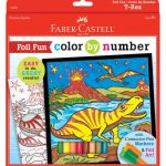 Faber Castell - FC14309 - Color By Numbers TRex
