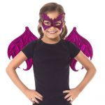 Little Adventures - 62974 - Magenta Dragon Wings & Mask (Pg. 61)Ages 3-8