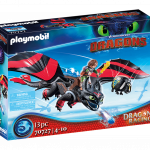 Playmobil - 70727 - Dragon Racing- Hiccup and Toothless-New 2021[May]