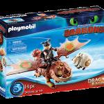 Playmobil - 70729 - Dragon Racing- Fishlegs and Meatlug -New 2021[May]
