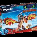 Playmobil - 70731 - Dragon Racing- Snotlout and Hookfang - New 2021[Ma