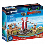 Playmobil - 9461 - Dragon Racing- Gobber the Belch with Sheep Sling