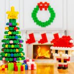 Pix Brix - PBCSPP - Santa & Tree Set