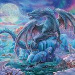 Ravensburger - 14839 - Mystical Dragons-500 pc