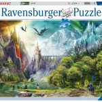 Ravensburger - 16462 - Reign of Dragons-3000 pc